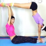 Fun And Easy Yoga Poses Met 2 Photos