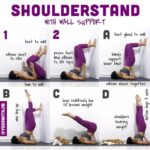 Fun And Easy Yoga Poses Shoulder Stand Gymnastics Images