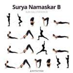 Fun And Easy Yoga Poses Sun Salutation B Photos