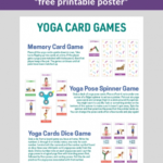 Fun And Easy Yoga Sequence Cards Photo