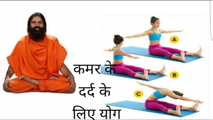 guide of back pain yoga ramdev pictures