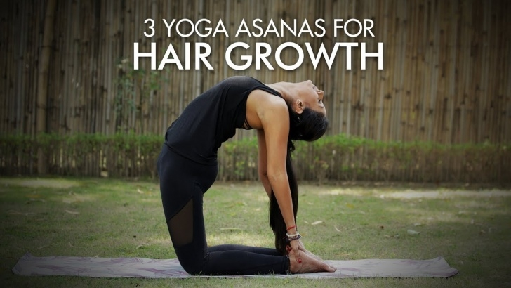 guide of yoga asanas for hair growth images