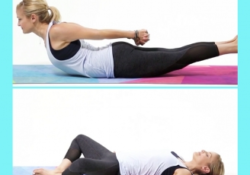 guide of yoga poses for period cramps photo