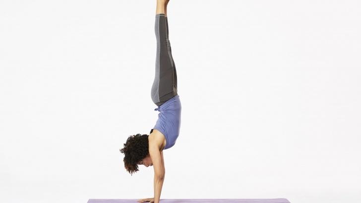 guide of yoga poses handstand pictures