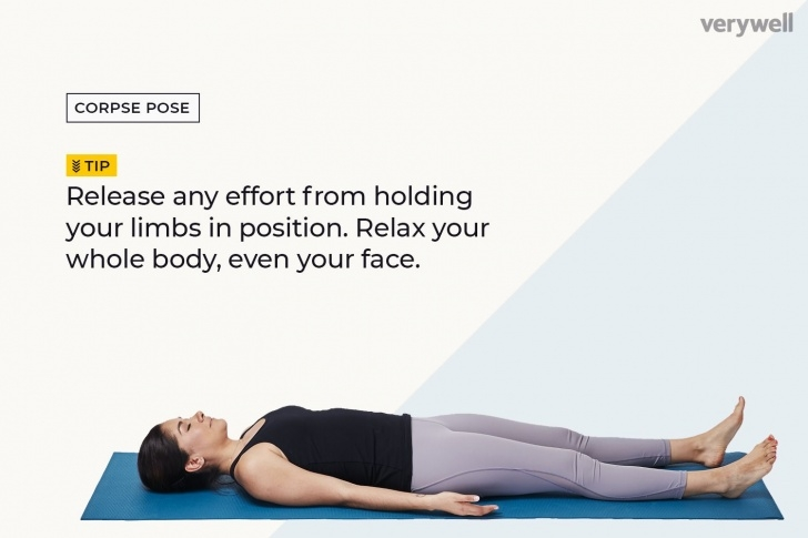 guide of yoga poses savasana in english pictures