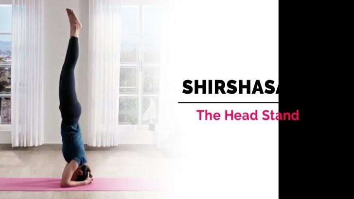 guide of yoga poses sirsasana ke fayde images
