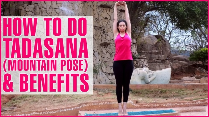 guide of yoga poses tadasana ke fayde photo