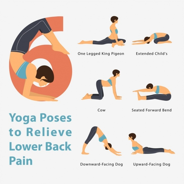 most common back pain cure yoga image