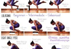 most common beginner yoga balance poses image