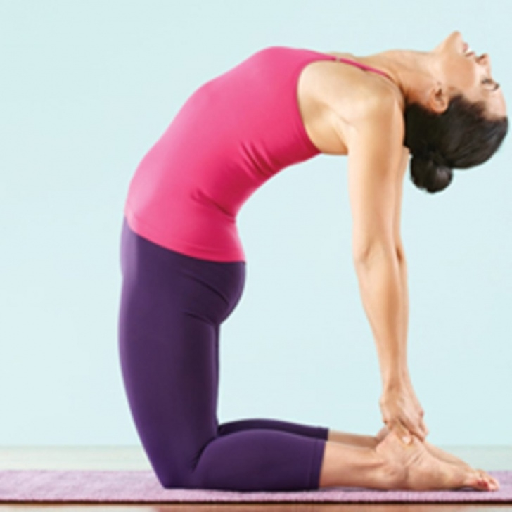 most common ustrasana camel pose pictures