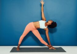 most common yoga poses one person photo