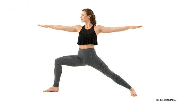 most common yoga poses standing photos