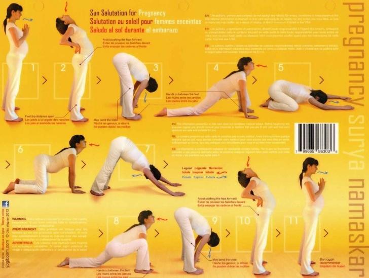most common yoga poses sun salutation for pregnancy photo