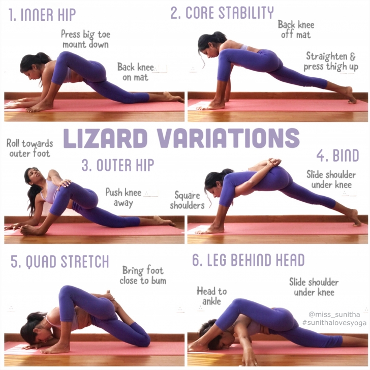 most important lizard pose variations photos
