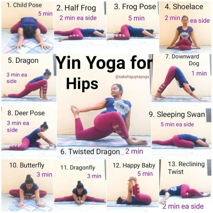 most important yin yoga poses for hips image