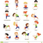 Most Important Yoga Poses Cartoon Image