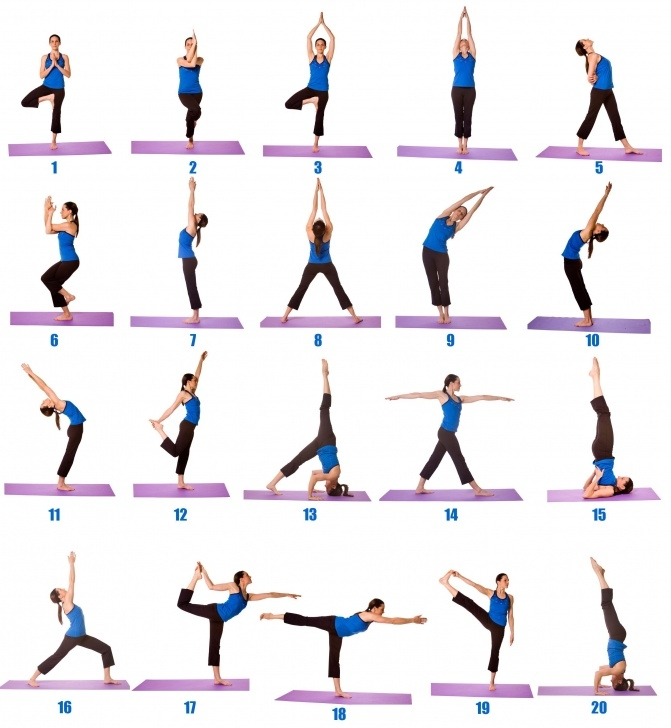most important yoga positions beginners photos