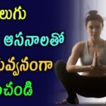 Must Know Yoga Asanas In Telugu Image