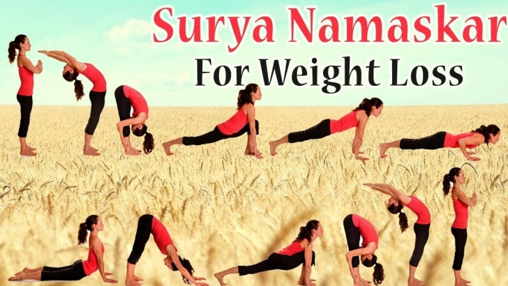 must know yoga asanas surya namaskar image