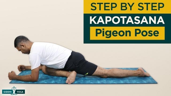 must know yoga poses adho mukha kapotasana photos