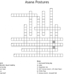 Must Know Yoga Poses Crossword Picture