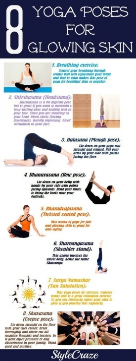 must know yoga poses for glowing skin images