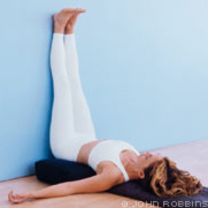 must know yoga poses legs up the wall after running image
