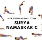 Must Know Yoga Poses Sun Salutation C Photo