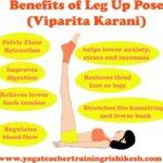 Must Know Yoga Poses Viparita Karani Asana Picture