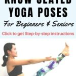 Must Know Yoga Stretches Seniors Image