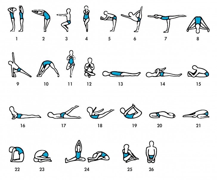 popular bikram yoga poses advanced pictures