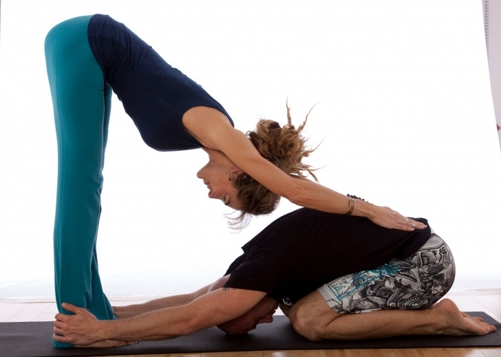 popular easy yoga poses partner pictures