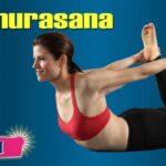 Popular Yoga Poses Dhanurasana In Hindi Photo