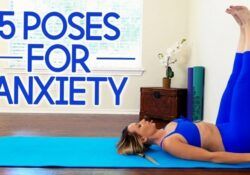popular yoga poses for anxiety images