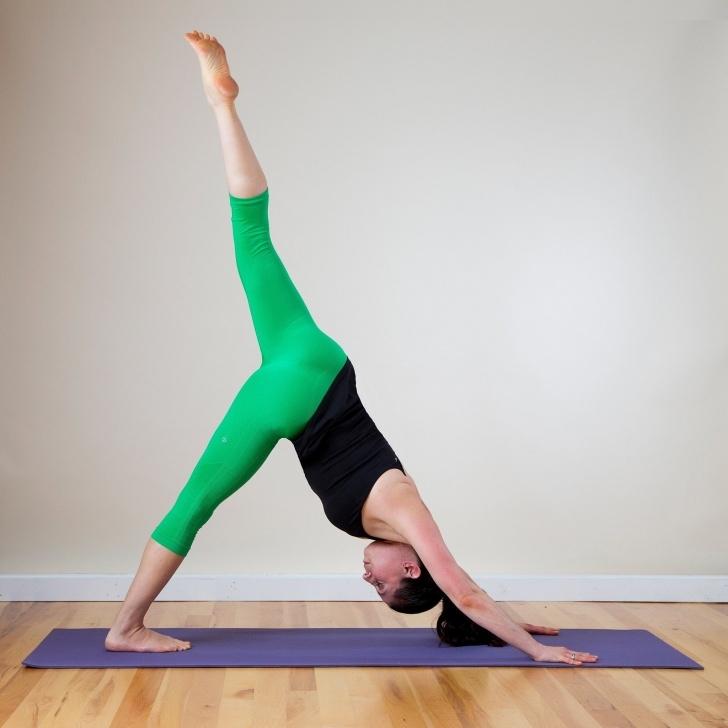 popular yoga poses photography image