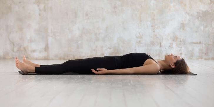 popular yoga poses savasana in english images