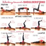 Popular Yoga Poses Shoulder Stand For Beginners Pictures