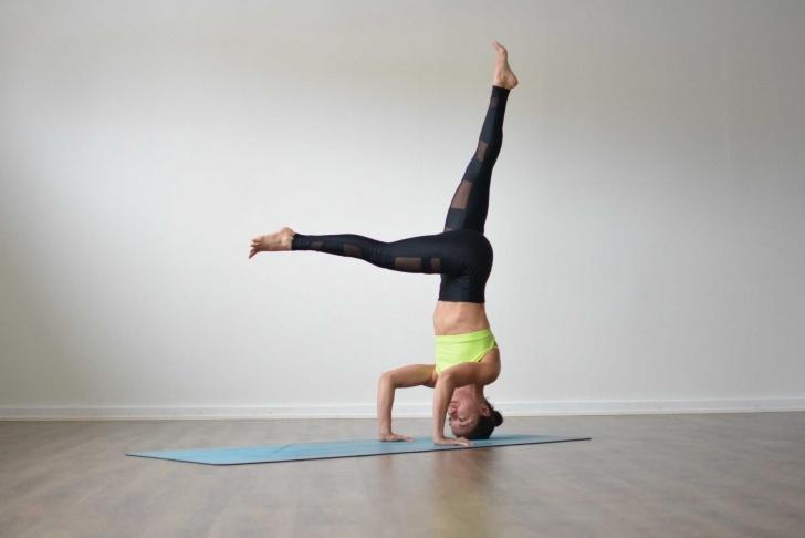 popular yoga poses sirsasana in english images