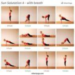 Popular Yoga Poses Sun Salutation B Images