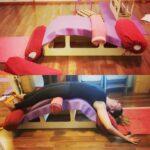 Popular Yoga Poses Viparita Dandasana Bench Photo