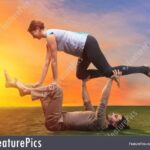 Popular Yoga Poses With Two People Images