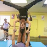 Simple 2 Person Yoga Poses Hard Image