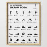 Simple Bikram Yoga Poses Printable Image