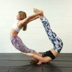 Simple Easy Yoga Poses For Two People Image