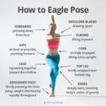 Simple Garudasana Yoga Pose Photo