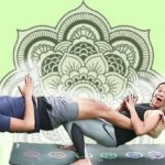 Simple Weird Yoga Poses For Two Photo