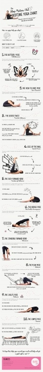 simple yoga poses before sleep pictures