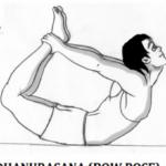 Simple Yoga Poses Dhanurasana In Hindi Images