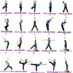 Simple Yoga Poses For Beginners Printable Pictures