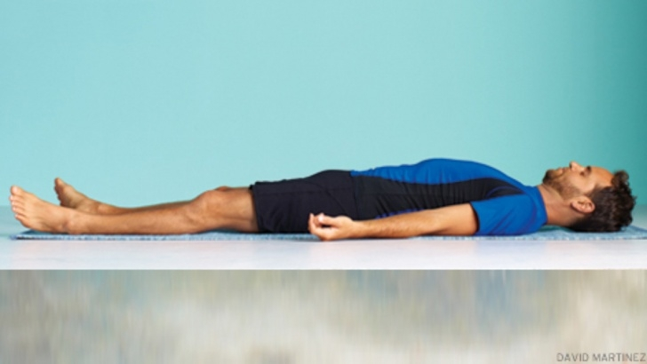 simple yoga poses lying on back pictures